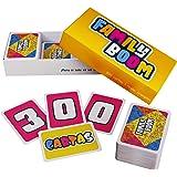 FAMILY BOOM - El juego de mesa para Toda la Familia - 300 cartas variadas y divertidas, Juego de cartas niños, juegos de mesa