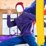 Montaje de la foto del bailarín del hombre
