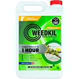 WeedKil Fast Acting Weed Killer 5L - Harmless To Children & Pets Once Dry | Glyphosate Free, Organic & Natural | Effective W