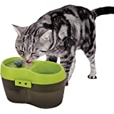 Goofy Tails 2 Litre Cat H2O Water Fountain for Cats | Automatic Cat Water Dispenser with Dental Care Tablet and Carbon Filter