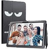 """Labanema Tablet Coque avec MatrixPad Z4, Slim Fit Cuir PU étui Housse Fin et Pliable Coque pour 10.1"""" Vankyo MatrixPad Z4 10 inch/MatrixPad Z4 Pro Tablette - Don't Touch"""