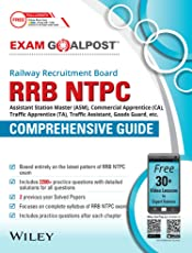 Wiley's RRB NTPC Exam Goalpost Comprehensive Guide