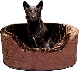 Pets&Partner Hundebett | Hundekissen | Hundekorb für Mittlere und große Hunde, Rutschfest, Kofferraum geeignet