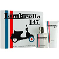 Lambretta 47 Scooter Eau De Toilette 100ml and Body Wash 150ml Gift Set for Him