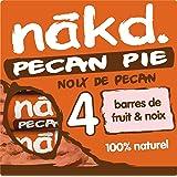 Nakd Noix de Pecan Pecan Pie Barres de Fruits/Noix Ingrédients 100% Naturels sans Sucre Ajouté sans Gluten 4 x 35 g 140 g