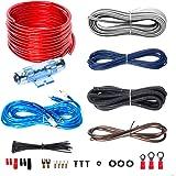 BOSS AUDIO KIT2 8 Gauge/ 3,27 mm Auto Installations-Set Verstärker Endstufe Kabel Anschlusskabel Cinch Kabel, Mehrfarben