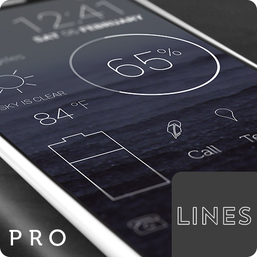 Lines Pro - Icon Pack