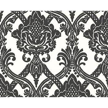 Livingwalls 554949 Papier Peint Intisse A Motif Tendance Neo Baroque