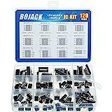 BOJACK 12 waarden 120 stuks Opamp Darlington Timer Phototaoupler LM324 LM339 ULN2003AN ULN2803APG LM358P LM386 LM393 NE5532P