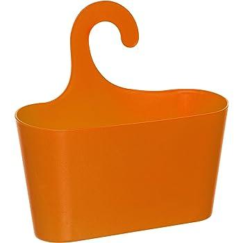 wohnideenshop duschkorb mit haken zum einh ngen orange und 15 anderen farben zum ausw hlen. Black Bedroom Furniture Sets. Home Design Ideas