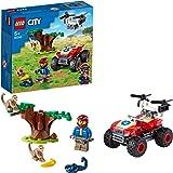 LEGO 60300 City Wildlife Rescue ATV Off Road Quad, Jungle Speelgoed Set met Dierfiguren, Cadeau voor Kinderen 5