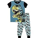 Harry Bear Pijamas de Manga Corta para niños Dinosaurio Ajuste Ceñido