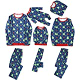 Family Christmas Pyjamas Set Fairy Christmas Family Matching Pajamas Set Adult Kids Pet Sleepwear Nightwear Photgraphy Prop P
