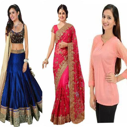 Saree Fancy (Rupali Boutique - Women's Clothing Online Shopping)