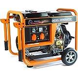 Stromerzeuger KW5500 1-Phasig 5000Watt Generator Notstromaggregat