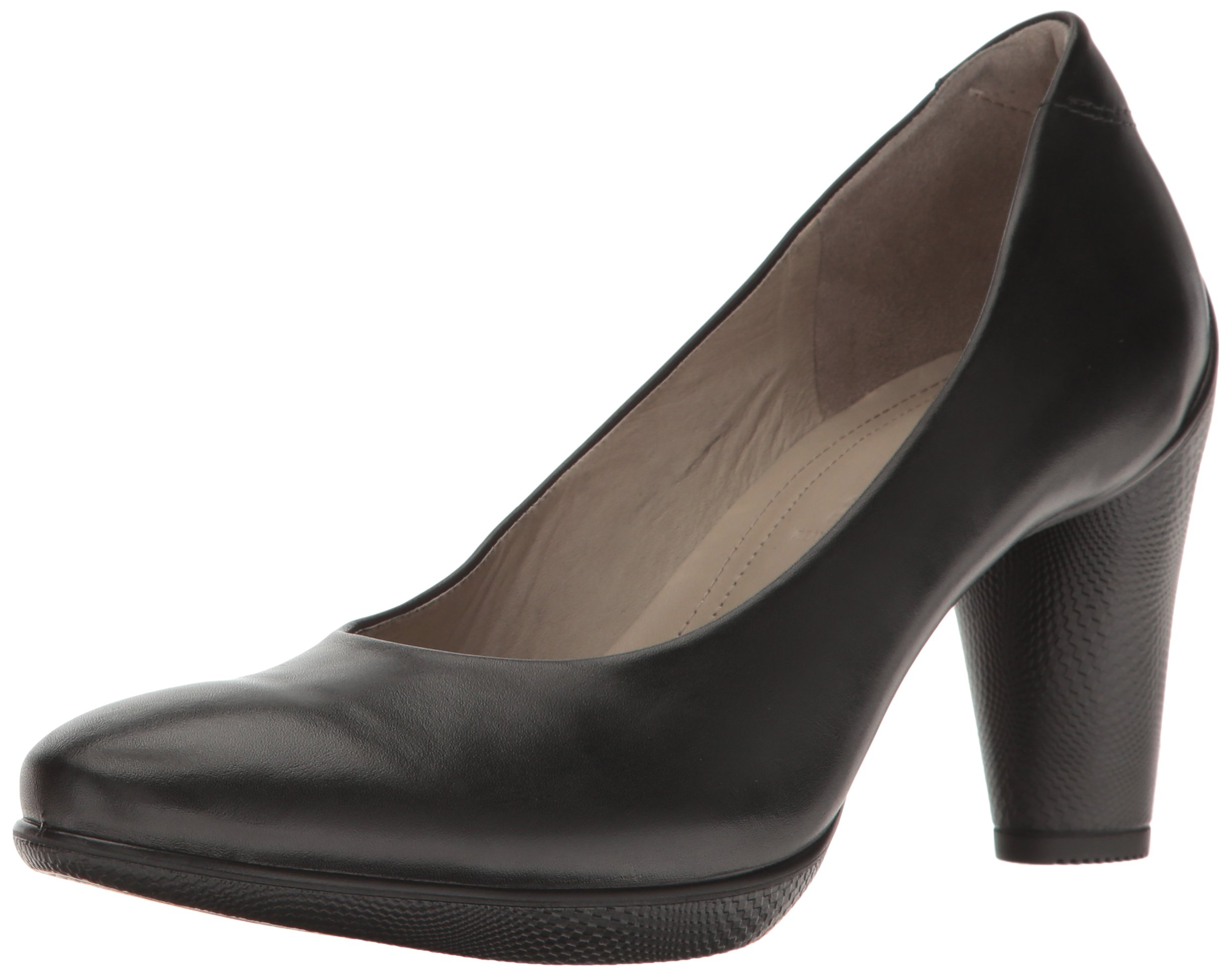 Ecco SCULPTURED Damen Pumps Leder, Schwarz
