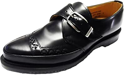George Cox Men`s Classic Monk Buckle Creepers