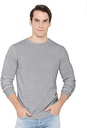 State Cashmere Uomo 100% Puro Cashmere Pullover A Manica Lunga con Girocollo