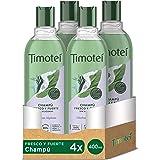 Timotei champú fresco y fuerte para cabello débil y apagado con extracto de hierbas alpinas con limpiadores de origen vegetal