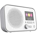 Pure Elan E3 Digitalradio (DAB/DAB+ Digital und UKW-Radio mit Küchen-Timer, 2,8-Zoll-TFT-Farbdisplay) Grau