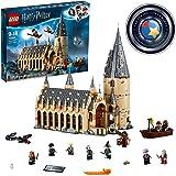 LEGO75954HarryPotterGranComedordeHogwartsJuguetedeConstrucciónconTorrede4Plantas,unaBotey10MiniFiguras