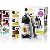 De'Longhi Nescafé Dolce Gusto Mini Me, Single Serve Capsule Coffee Machine Starter Kit, Including 6 boxes of Coffee Pods, EDG