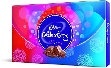 Cadbury Celebrations Assorted Chocolates Gift Box, 180.8 gm (Pack of 3)