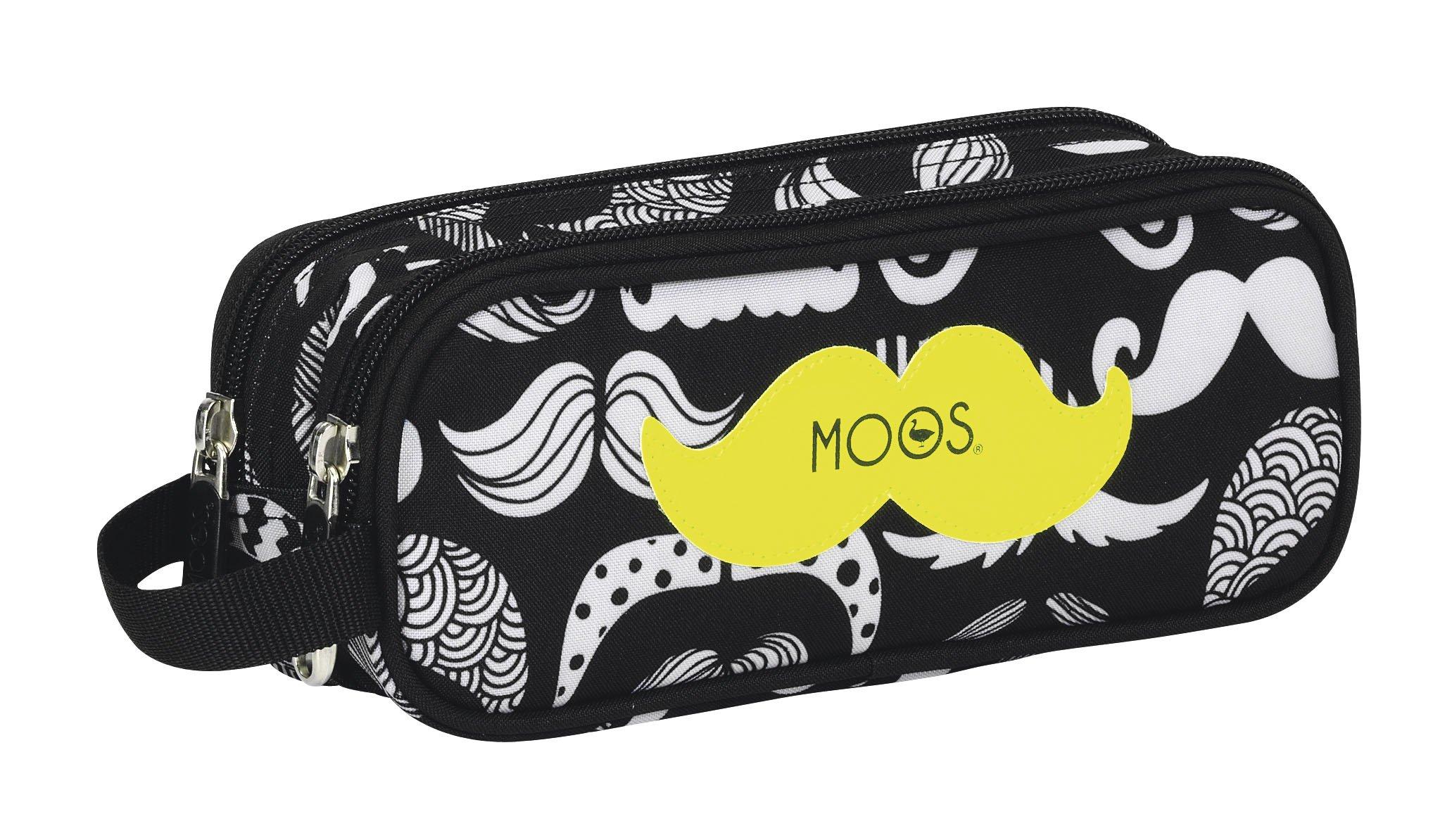 MOOS – Portatodo Doble, diseño Moustache (SAFTA 811418513)