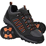 Mountain Warehouse Path Mens Walking Shoes - Waterproof Gym Shoes, Breathable Running Shoes, Mesh Lining with High Traction S