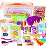 DilaBee Slime Making Kit - {48 Piece} Super Jumbo Starter Set - Safety Tested & Certified! Non-Toxic Slime Accessories & Supp
