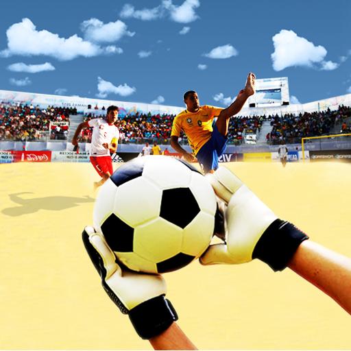 Soccer Goalkeeper Russian Beach Football Cup (Kick-kicker)