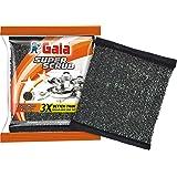 Gala Super Scrub Set (Black, Pack of 4)