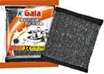Gala Super Scrub Set – Made of Steel – Black (Pack of 8)