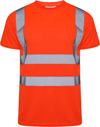 Inspire Me Hi Viz Short Sleeve T-Shirts | High Visibility | Breathable, Soft and Comfortable | Premium Material | Easy to Wash