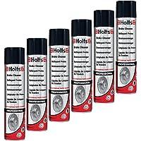 Holts 0131 Lot de 6 nettoyants pour Freins en Spray 600 ML