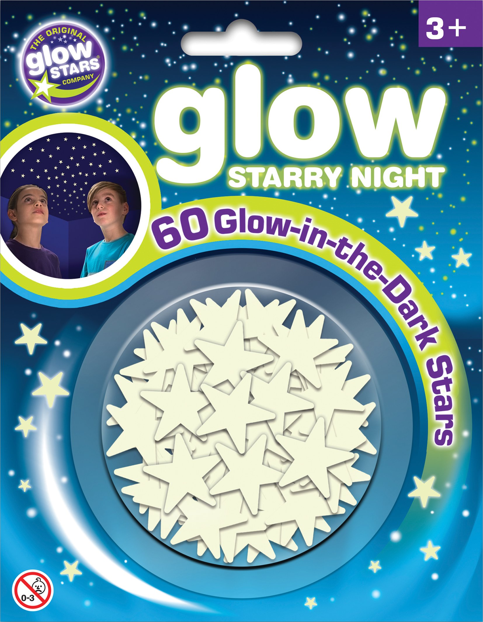 Brainstorm Toys B8605 The Original Glow Stars Company Glow Starry Night Room Decoration 1