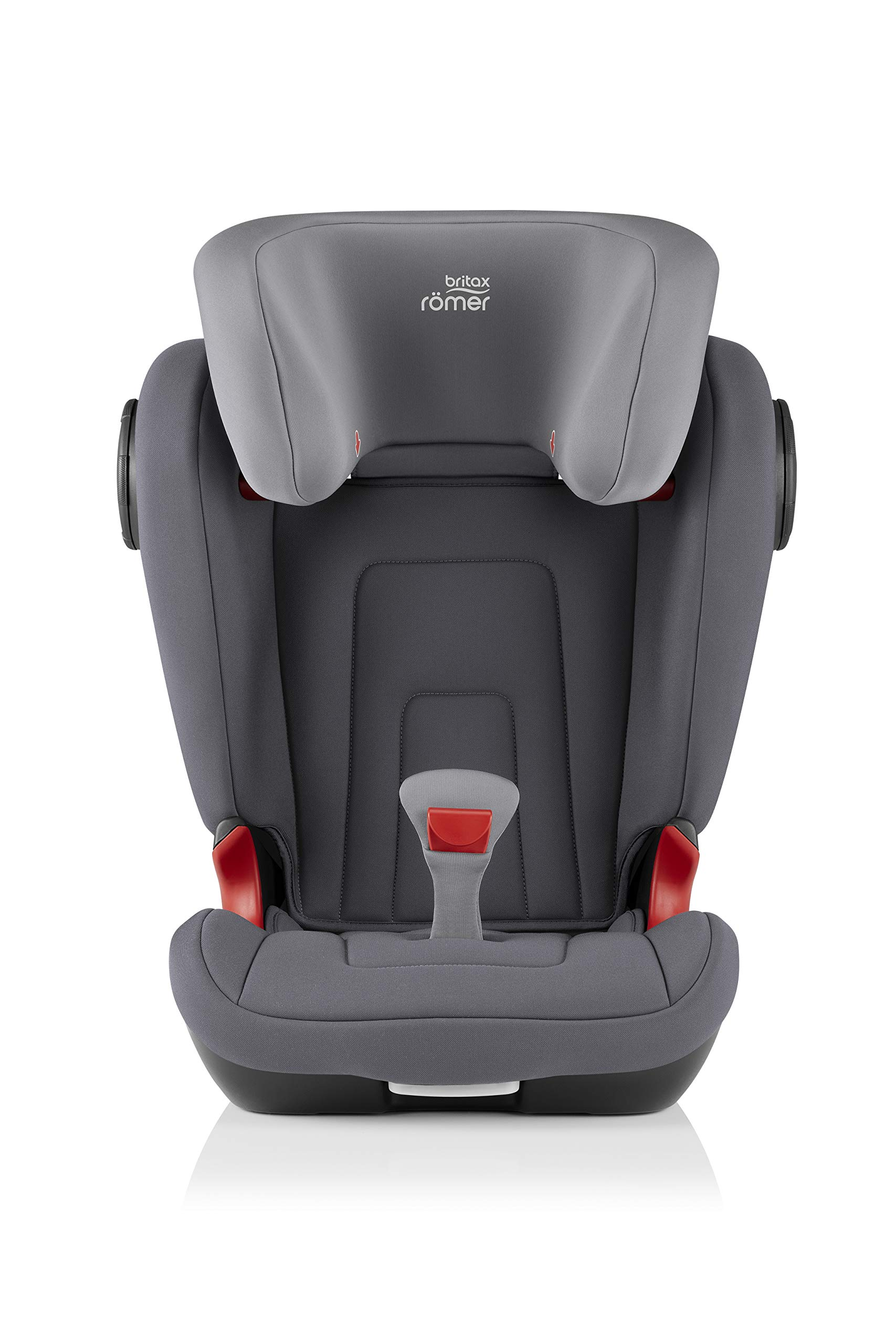 Britax Römer KIDFIX² S Group 2-3 (15-36kg) Car Seat - Storm Grey  Advanced side impact protection - sict offers superior protection to your child in the event of a side collision. reducing impact forces by minimising the distance between the car and the car seat. Secure guard - helps to protect your child's delicate abdominal area by adding an extra - a 4th - contact point to the 3-point seat belt. High back booster - protects your child in 3 ways: provides head to hip protection; belt guides provide correct positioning of the seat belt and the padded headrest provides safety and comfort. 2