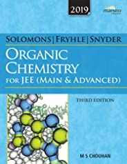 Wiley's Solomons, Fryhle & Snyder Organic Chemistry for JEE (Main & Advanced), 3ed, 2019