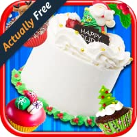 Christmas Cake Maker – Make & Bake Kids Candy Dessert Santa Kitchen Cooking Food Restaurant FREE Game