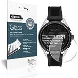 dipos I 2X Pellicola Protettiva Compatibile con Emporio Armani Smartwatch 3 Protezione Vetro Flessibile 9H