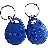 YARONGTECH badges rfid 125khz EM4100 Couleur Bleue Lot de 10