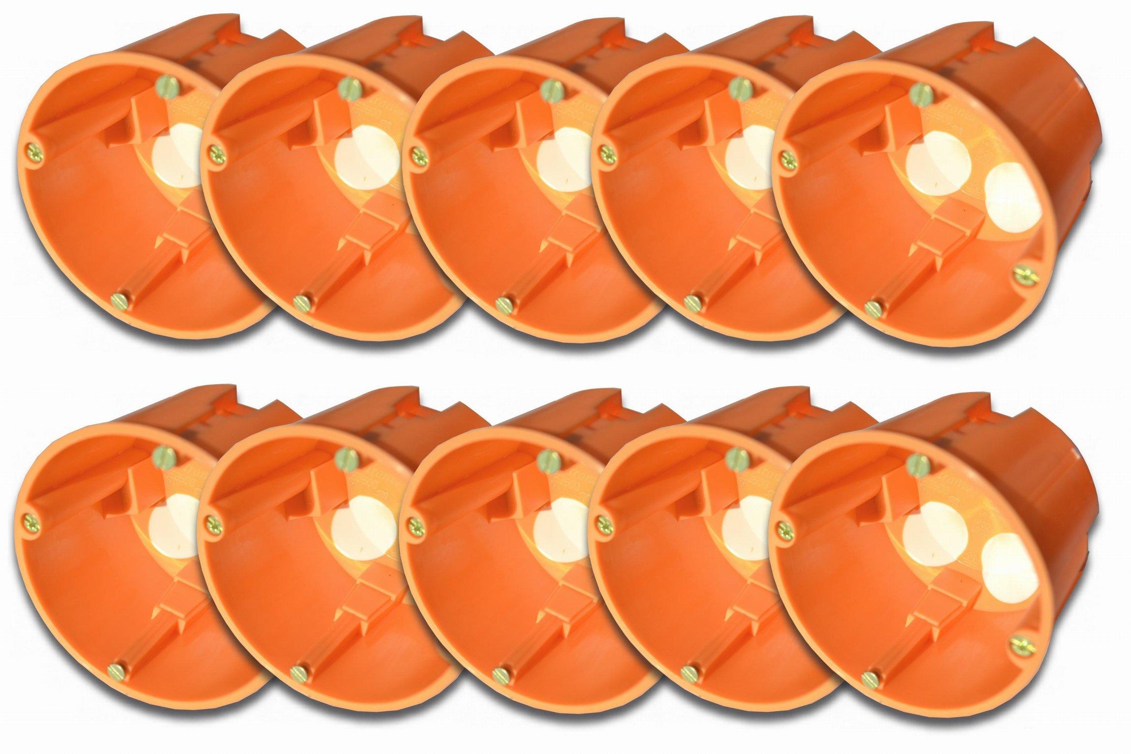 10 pcs insulsa assicuravano dose/dispositivi scatola anti-vento IP30 diametro: 68 mm, 61 mm di prof