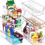 KICHLY - Ensemble de 6 Bacs de Rangement (1 bac à oeufs et 5 bacs de rangement) - Boîte de Rangement pour le réfrigérateur, l