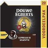 Douwe Egberts Koffiecups Espresso Krachtig Voordeelverpakking (200 Koffie Capsules, Geschikt voor Nespresso* Koffiemachines,