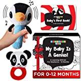 Einstein Box My Baby is A Genius | Baby Toys Set for Infants and Newborns of 0-12 Months | Set of Rattle Toys + High…