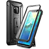 SUPCASE Fodral till Huawei M20 Pro [UBPro] Fodral med Inbyggt Skärmskydd Skyddande - Svart