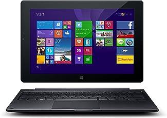Odys Winpad V10 2in1 25,7 cm (10,1 Zoll) Convertible Tablet-PC (Intel Atom Quadcore Z3735F, 1,83GHz, 2GB RAM, 32GB HDD, Win 8.1 Office 365 Personel, HD IPS Display, Bluetooth 4.0, Micro HDMI, Micro USB, Micro SD) schwarz