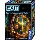 KOSMOS 695149 EXIT- Das Spiel - Der verwunschene Wald, Level: Einsteiger, Escape Room Spiel, für 1 bis 4 Spieler ab 10 Jahre,
