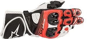 Alpinestars Motorradhandschuhe Gp Plus R V2 Gloves Black White Bright Red Black White Bright Red L Auto