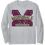 Sex Education Moordale Secondary Logo Manche Longue